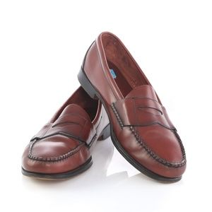 Cole Haan Leather Pinch Penny Loafers Dress Shoes